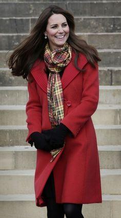Kate Middleton Wool Coat