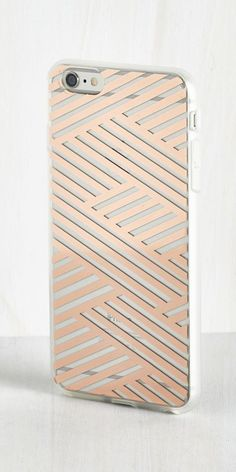 Shine on the Line iPhone 6 Plus Case in Copper