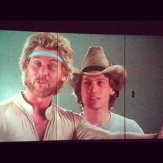 Megaforce (1982) Barry Bostwick  Michael Beck.  Two cool dudes. xD