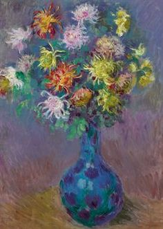 Vase de Chrysanthèmes, 1882 by Claude Monet, sold by Christie's in 2010 for $3,218,500