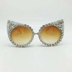 2e3c0fe13ce51 Luxury Rhinestone Cat Eye Vintage Shades