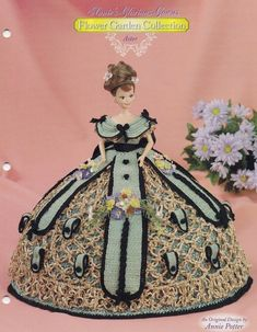 Aster Annies herrliche Kleider Blumengarten Barbie Fashion