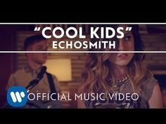 "And she says, ""I wish that I could be like the cool kids, 'Cause all the cool kids, they seem to fit in.""  Echosmith - #Cool Kids"