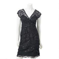 Robe à volants de dentelle pour dames N.W.D. 20,00$ Formal Dresses, Fashion, Dama Dresses, Lace, Dresses For Formal, Moda, Formal Gowns, Fashion Styles, Black Tie Dresses