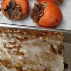 Persimmon Bars Recipe on Yummly. @yummly #recipe
