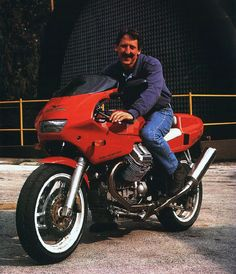 Dr. John Wittner and the Moto Guzzi Daytona 1000