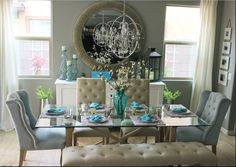 "Z Gallerie On Instagram ""Mirror Monday Rach_Bice's Dining Room Unique Hershey Circular Dining Room Decorating Design"