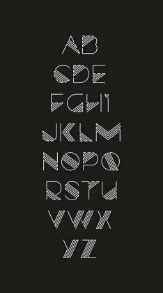 90 beautiful typography alphabet designs (part www. - level of education - 90 beautiful typography alphabet designs (part www. Fonte Alphabet, Design Alphabet, Hand Lettering Alphabet, Typography Letters, Alphabet Fonts, Typography Poster, Writing Styles Fonts, Decorative Alphabet Letters, Lettering Styles Alphabet