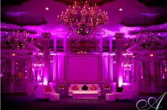 Fairmont Copley Plaza Hotel - Pink Lighting