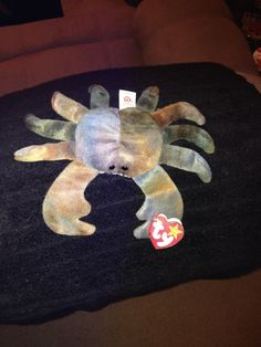 Ty Original Beanie Baby Claude The Crab Style 4083  #Ty