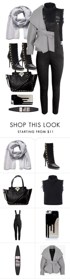 """""""Untitled #9913"""" by katgorostiza ❤ liked on Polyvore featuring The North Face, Balmain, Rachel Comey and Maybelline"""