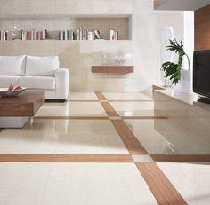 Płytki Crema Marfil by My Way Floor Design, House Design, Entryway Wall Decor, Office Furniture Design, Room Tiles, Wall And Floor Tiles, Floor Patterns, Bathroom Styling, Wooden Flooring