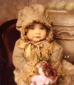 vintage baby girl photography - Hledat Googlem