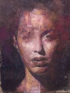 "Saatchi Art Artist Yuriy Ibragimov; Drawing, ""Purple haze"" #art"