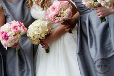 Silver and Pink Wedding Colors