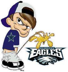 Eagles suck, cowboys rule