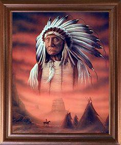 Indian Chief with Tepee Native American Wall Decor Mahoga... https://www.amazon.com/dp/B01JOWEPZU/ref=cm_sw_r_pi_dp_x_uuVKybKNJ9CHS