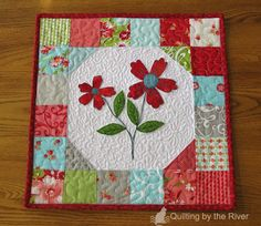 Freemotion by the River: Ruby Floral Mini