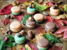 Podzimní makronky Macarons - autumn