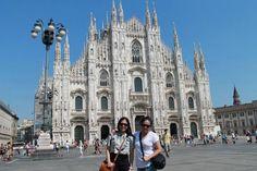 Piaza del Duomo Church- Milan Italy