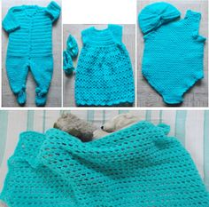 Sweet Nothings Crochet: BABY LAYETTE - A LOVELY GIFT