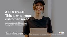 Keep your staff informed, engaged & motivated. Use our awarded employee engagement solution.Trusted by FOURLIS GROUP, IKEA, INTERSPORT The innovative platform for your employees. Learn more at hr-kit.com. HRKIT® is a registered member of the Elevate Greece platform. #happyclients #happycustomers #HRKIT #hrkit Creative Communications, Employee Engagement, Typography Logo, Design Agency, Are You Happy, Innovation, Greece, Ikea, Platform
