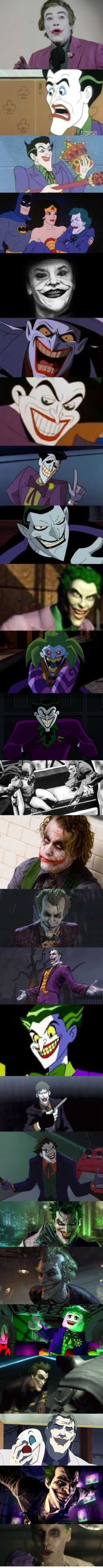 The Joker evolution