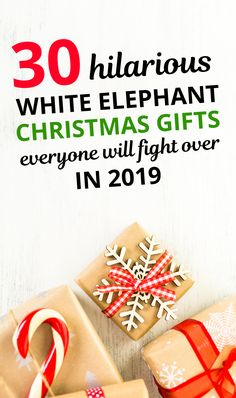 30 Hilarious Yankee Swap Christmas Exchange Ideas Are you playing the white elephant game this year? Here are 30 of the best white elephant gifts. Amazon Christmas Gifts, Funny Christmas Presents, Inexpensive Christmas Gifts, Creative Christmas Gifts, Christmas Gifts For Coworkers, Thoughtful Christmas Gifts, Holiday Gifts, White Elephant Game, Best White Elephant Gifts