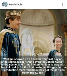 Go to instagram @narniafacts for more facts!! ;)