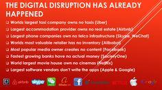 The digital disruption has already happened | Sharing Economy