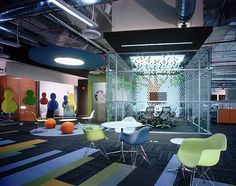 The New MSN Office in Santa Fe,Mexico // #bafco #bafcointeriors Visit www.bafco.com for more inspirations.