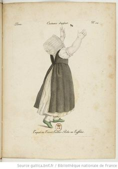 early 19th century book of Parisian baby clothes!  I'd love to dress my children in sweet white frocks!