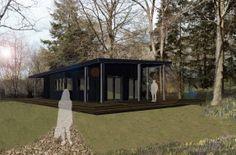 Eco-cabin design Cabin Design, House Design, Eco Cabin, Plants, Cottage Design, Plant, Architecture, Home Design, Planting