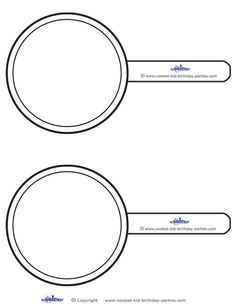 Blank Printable Magnifying Glass Invitations - Coolest Free Printables