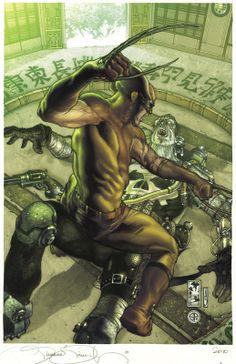 Les illustrations de super-héros par Simone Bianchi