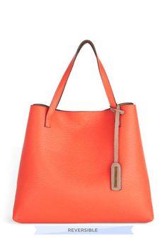ModCloth   Two-Tone to Tango Bag in Coral #modcloth #bag