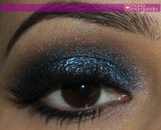 Make com Glau Arruda- Azul marinho 3D