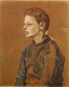 Pablo Picasso — Portrait of Allan Stein, 1906, Pablo PicassoSize:...