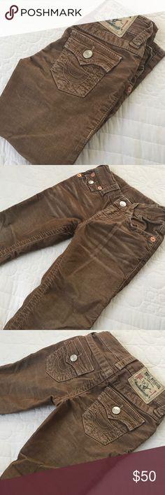 Kids corduroy jeans Good condition, Boys corduroy jeans True Religion Bottoms Jeans
