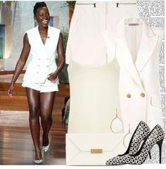 """Fashion Icon: Lupita Nyong'o"" by prettyorchid22 on Polyvore"