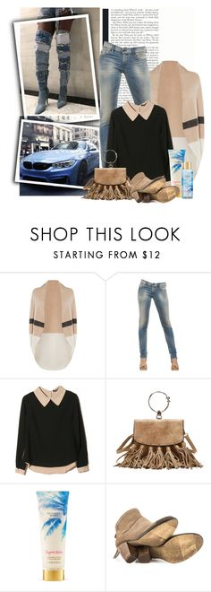 """crazy boots"" by dicabria ❤ liked on Polyvore featuring BMW, Karen Millen, Diesel, Victoria's Secret and Steve Madden"
