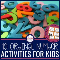 Ordinal numbers are essential to everyday life! Find 10 FREE ordinal number activities to teach this skill effectively as well as free printables. 3 Year Old Activities, Number Activities, Number Games, Activity Games, Numbers Kindergarten, Kindergarten Activities, Classroom Activities, 2nd Grade Math, Grade 2