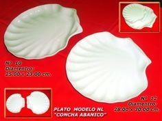 "Plato Modelo NL ""Concha Abanico"""