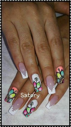 Pretty Nail Picking, School Nails, Toe Nail Designs, Purple Butterfly, Nail Art Stickers, Professional Nails, Nail Decorations, Stylish Nails, Nail Inspo