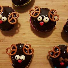 Moose cupcakes