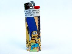 Marge Simpson Comic Book Lighter by RemixComicBooks on Etsy