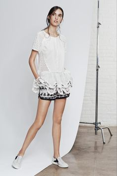 Thakoon Addition Spring 2015 Ready-to-Wear - Collection - Gallery - Look 1 - Style.com