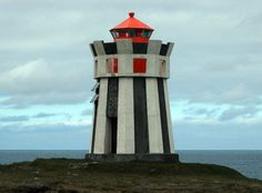 Straumnes Lighthouse,Northern Iceland