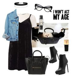 """""""I won't act my age!!!"""" by maryanacoolstyles ❤ liked on Polyvore featuring Michael Kors, Dorothy Perkins, Yves Saint Laurent, CÉLINE, High Heels Suicide and Miss Selfridge"""