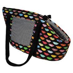 Bolsa de Transporte para Cães Kiss Dog & Home - Feita em poliéster com…